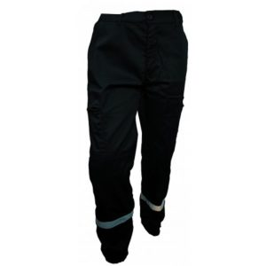 Pantalon intervention multipoches avec bande reflechissantes-PIBA02