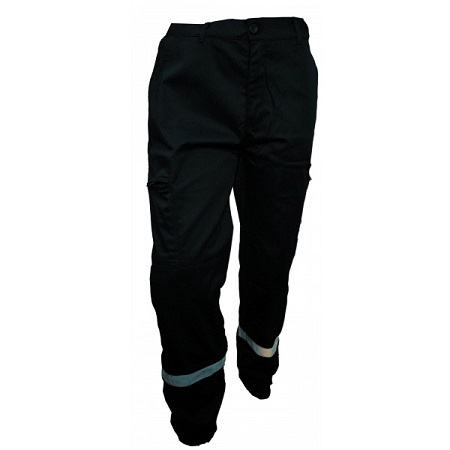 Pantalon intervention multipoches avec bande reflechissantes-PIBA02