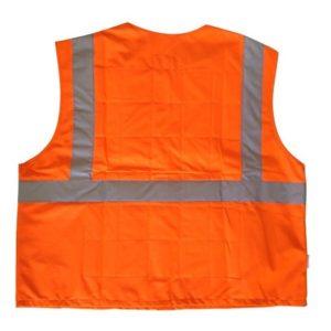 chassuble orange haute visibilite