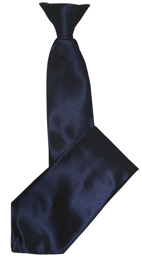 Cravate agent de sécurité noire