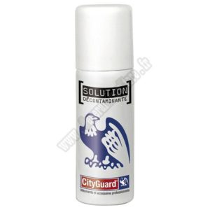 solution decontaminante blanc